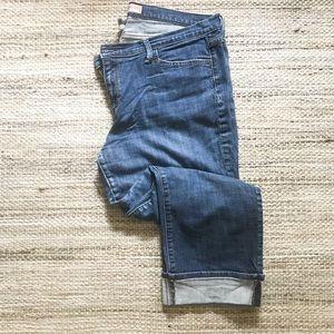 GAP cuff crop jeans